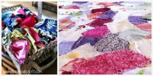 Turning Fabric Scraps into New Fabric