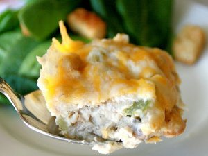 Chicken, Celery, and Stuffing Casserole