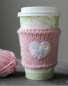 Sweetheart Cup Cozy