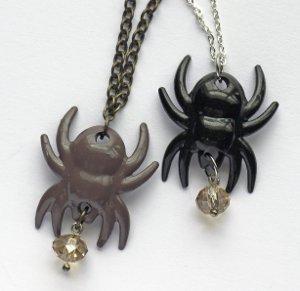 Creepy Cute Spider Necklace