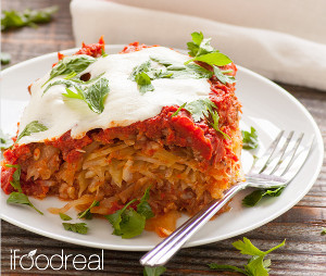 Cabbage Rolls Casserole with Turkey