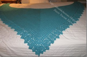 Oversized Crochet Shawl