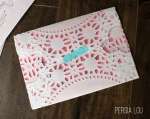 Lovely Lacey Envelopes