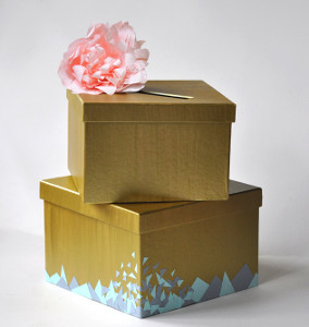 Embellished Wedding Card Box
