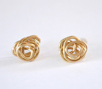Refined Rosebud Earrings