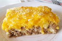 """More Please!"" Cheeseburger Casserole"