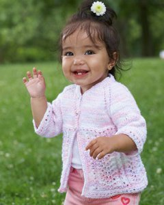 Fairy Lacy Baby Cardi