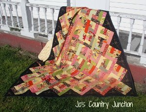 Oz's Log Cabin Quilt Pattern