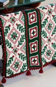 Austrian Sleigh Crochet Afghan