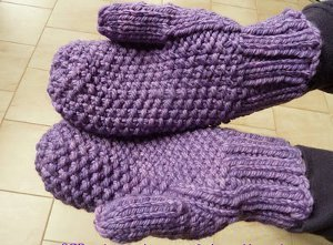 Purple Passion Mittens