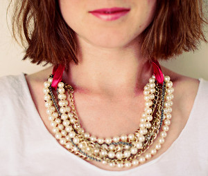 On the Go Pearl Necklace