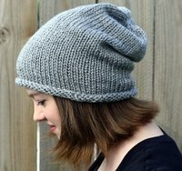 Sinfully Simple Slouch Hat