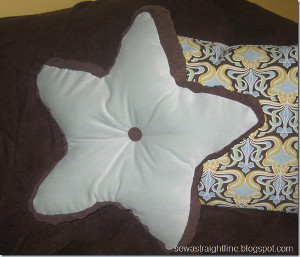 Fat Star Pillow