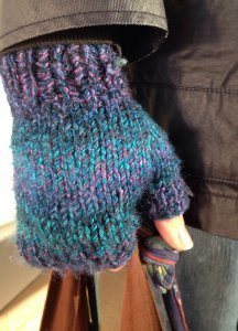 Magic Fingerless Mitts