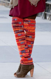 Knee High Legwarmers