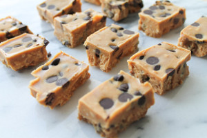 Peanut Butter Chocolate Chip Freezer Fudge