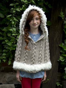 Cozy Hooded Poncho