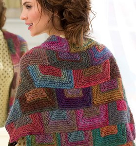 Amazing Mitered Shawl