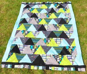 Cool and Quick Triangle Quilt Pattern