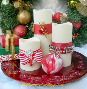 Christmas Candle Jewelry