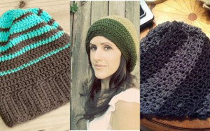 21 Crochet Slouchy Beanie Patterns  487b3fc00fe