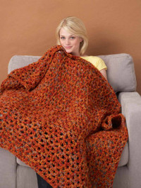 32 Crochet Blanket Patterns Inspired by Fall Leaves