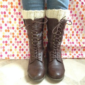 Wild West Ribbed Boot Cuffs