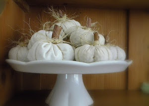 Decorative Homemade Tabletop Fall Pumpkins