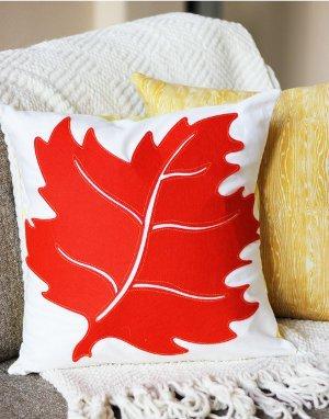 Fun Fall Leaf Pillow
