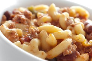 Classic Cheesy Chili Mac