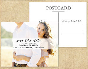 Printable Postcard Save the Date