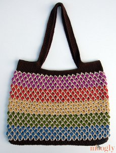 Crochet market bag pattern pdf