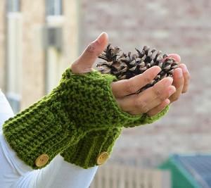 Stylish Fall Fingerless Gloves