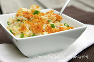 Buffalo Chicken Funeral Potatoes