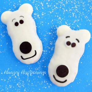 Precious Polar Bear Cookies