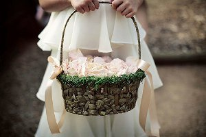 Magical DIY Flower Girl Basket