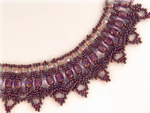 Lovely Lace Lanterns Necklace Pattern