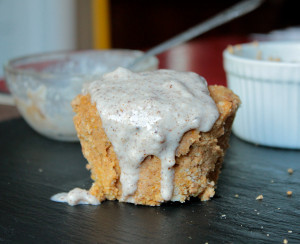 3-Minute Single-Serving Pumpkin Cake