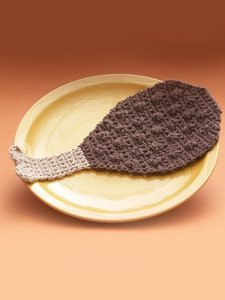 Turkey Drumstick Dishcloth