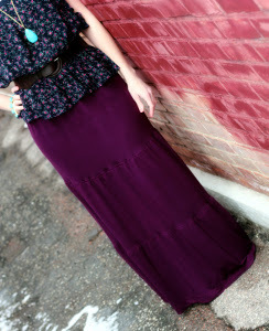 Anthropologie Maxi Skirt