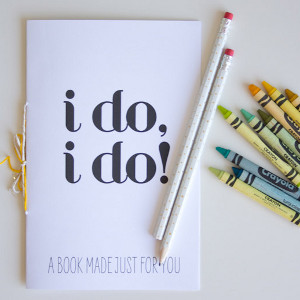 """I Do"" Printable Activities for Kids"