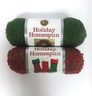 Holiday Homespun Yarn