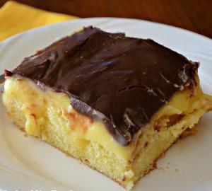 Cake Mix Boston Cream Pie Cake Recipelion Com