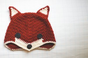 Sly Fox Crochet Hat
