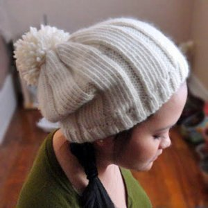 Simple Snowball Beanie