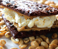 Brittled Ice Cream Sandwich