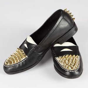 DIY Studded Loafers