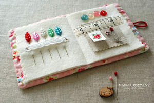 Storybook Needle Case