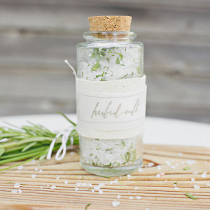 Lovely Herbed Salt Favors