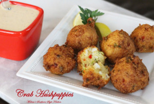 Crab-Stuffed Hushpuppies